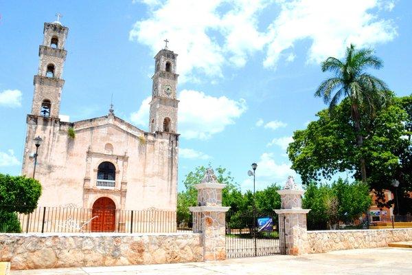 Este templo es uno de los más interesantes e imponentes edificios del Camino  Real 56573876ae4